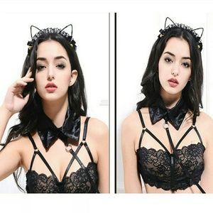 kawaii cat ears w bells jingles New in package